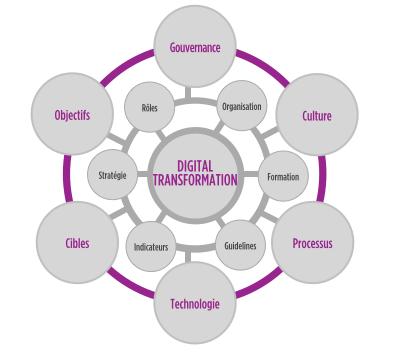 schéma transformation digitale pour MYA